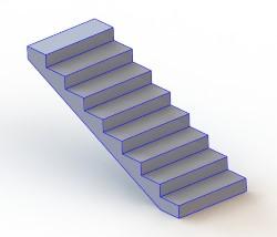Расчет лестницы онлайн, расчет лестницы на этаж